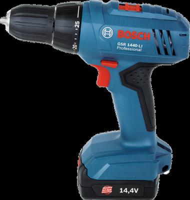 Máy khoan/bắt vít dùng pin Bosch GSR 1440-LI Professional